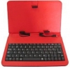"Etui do tabletu z klawiaturą QWERTY 7"" KS7 RED"