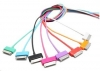 Kabel USB 2.0 do iPad/iPhone/iPod 1.0 m niebieski