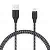 Kabel USB - Lightning 8Pin 1,2m Aukey Black