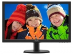 "Monitor 23,6"" Philips LED 243V5LSB5/00 FHD Czarny"