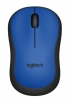 Mysz Logitech M220 Silent Wireles Optical Blue USB