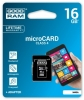 Pamięć SD (micro) 16 GB GoodRam + adap. CL4