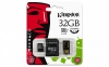 Pamięć SD (Micro) 32 GB Kingston cl10 +adapt+czytn