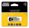 Pamięć USB 4 GB GoodRam UTS2 Twister Black