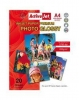 Pap.ActiveJet Glossy Photo A4 200g a'20