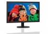 "Monitor 23"" Philips LED 233V5LSB DVI czarny"